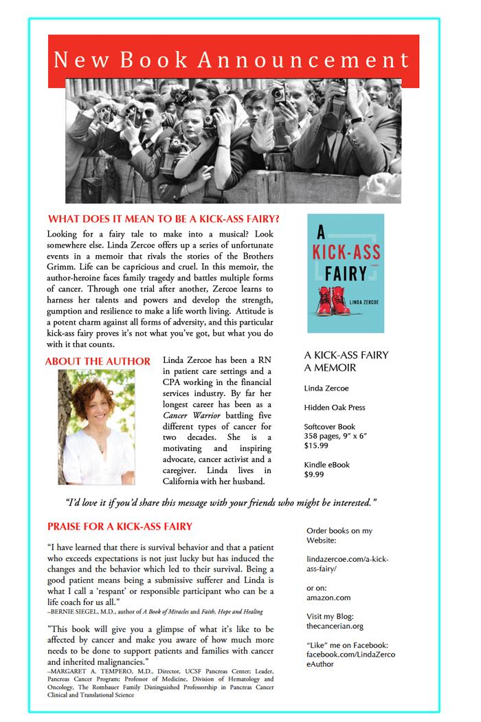 Linda's Memoir Announcement